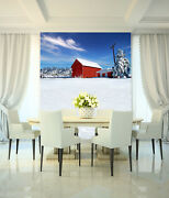 3d Christmas Snow House 45 Wall Paper Wall Print Decal Wall Deco Indoor Mural