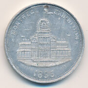 Canada Medal Montreal Exposition 1895 Leroux 1517l