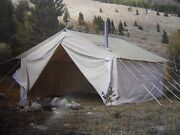 14and039 X 16and039 X 5and039 Big Horn Wall Tent Tent Frame And Angles