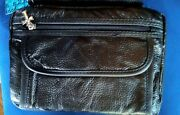 Leather Bible Cover/ Carrier Black