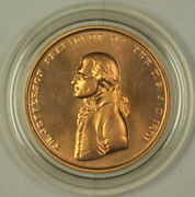 Us Mint Thomas Jefferson Indian Peace Medal Small Size