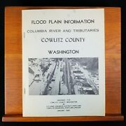 Flood Plain Information Columbia River And Tribs Cowlitz Us Corps Engineers 1969