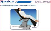 Hydraulic Ot Table Operation Theater Surgical Table Tmi 1203 General Surgery