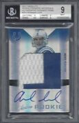 Andrew Luck 2012 Absolute Rpm Jumbo Patch On Card Auto Rc /10 Bgs 9 10 Au Pop 2