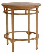 Large Teak Wood Orleans Bar Table Made By Chic Teak