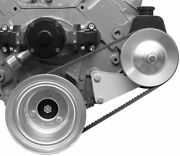Chevy Power Steering Pump + Early Attached Electric Water Pump Bracket Bbc 418l