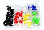Red Amber Green Blue White Wedge Leds Dashboard Instrument Panel Lights Bulbs Gm