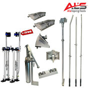 Platinum Starter Set Of Automatic Drywall Taping Tools W/ Free Adjustable Stilts