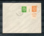 Israel Scott 1f Doar Ivri 3p Tab Perforated 10x10 On First Day Cover