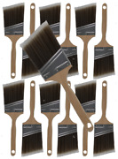 3 Angle House Walltrim Paint Brush Set Home Exterior Or Interior Brushes