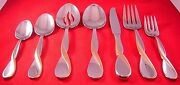 Oneida Golden Aquarius Gold Accent Glossy Stainless Flatware Your Choice Exc