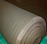 Heather /olive Green Wool Melton Fabric 80 Wool 58 Wide 11 Oz. By The Yard
