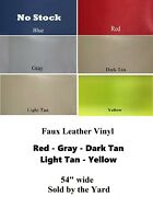 Paramount Outdoor Upholstery Vinyl - Faux Leather - Marine / Rv / Automotive