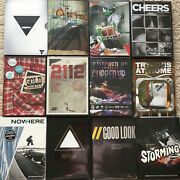 Lot Of 12 Snowboard Dvds Absinthe Standard Isenseven Winter Extreme Sports