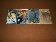 Sdcc Comics 2 Creatures Of The Id 1 The Darkness 1 Comico Primer 5 Megaton 3