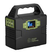 Portable Power Pack Li-ion Powerpack Ac/dc Off Grid Use Charge Camping Fishing