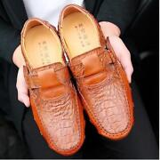 New Fashion Men Real Leather Shoes Crocodile Pattern Driving Shoes Octopus Shoes