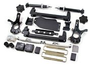 Zone Offroad - Upgraded 6.5 Suspension Lift Kit - 07-13 Chevy/gmc 1500 C1-2