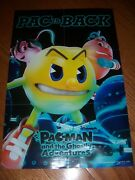 Pac Is Back Pacman Rare Promo Poster Official