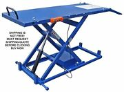 New Ideal 2200 Lb Motorcycle Bike Electric Hydraulic Lift Lifting Table