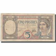 [574639] Banknote, French Indo-china, 5 Piastres, Undated 1926, Km49b