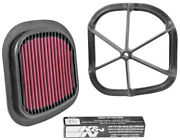 Kandn Kt-4511xd Atv Air Filter / Fits 2007-2016 Ktm 250sx And More