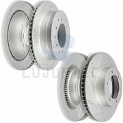 Front And Rear Brake Discs Rotors For 2003 2004-2009 Toyota 4runner Drill Slot