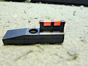 Williams Gun Sight Fiber Optic Red Front Sight For Ruger Single Six