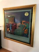 Markus Pierson Fate I Tell You Limited Edition Serigraph - Signed And Framed