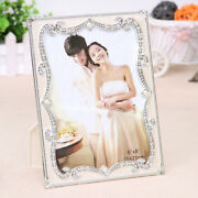 6/7/8/10 Modern Resin Beaded Picture/photo Frame Home Living-room Desk Decor