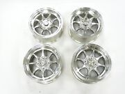 Mag1 Racing Style Rims By Nippon Racing Set +34 P.c.d. 4x114.3 15x7 For Civic