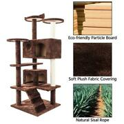 52and039and039cat Tree Kitten Tree Tower Condo Furniture Scratch Post Kitty Pet House Play