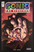 Sonic The Hedgehog 7 Comic Book 2018 Sdcc Retailer Exclusive Never Read Idw