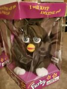 1998 Black Tiger Electronics Furby New In The Box