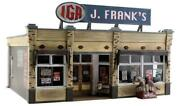 Woodland Scenics O Scale Built And Ready J. Frank's Grocery Building Br5851