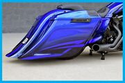 Harley Davidson Street Sweeper Stretched Saddlebags Rear End 2014-current Dbc