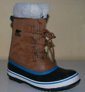 Sorel Winter Carnival Womenand039s Winter Snow Boot Nl1495/224 Camel Brown Rrp Andpound110