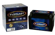Everlast Ctx12a-bs - 12v Agm Sealed Maintenance-free Battery With Acid Pack
