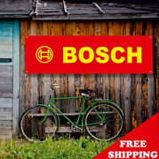 Bosch Banner Vinyl Or Canvas Advertising Garage Sign Poster Many Sizes