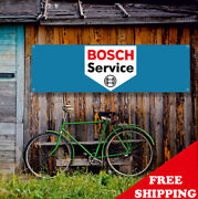 Bosch Service Banner Vinyl Or Canvas Advertising Garage Sign Poster Many Sizes