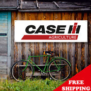 Case Ih Agriculture Banner Vinyl Or Canvas Advertising Garage Sign Many Sizes