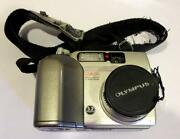 Olympus Camedia Digital Camera C-3020 Zoom For Parts Only Does Not Work