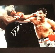 Larry Holmes And Gerry Cooney Signed 16x20 Photo Boxing Ssg Coa