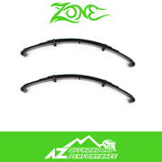 Zone Offroad 2 Front Or Rear Leaf Springs Pair For 87-95 Jeep Wrangler Yj J0200