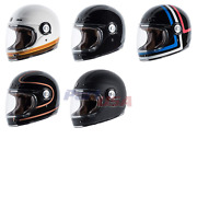 Torc T1 Retro Full Face Motorcycle Helmet Dot And Ece 22.05