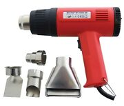 2000w Hot Air Heat Gun Paint Wallpaper Stripper Remover And 4 Nozzles 2yr Warranty