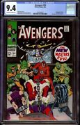 Avengers 54 Cgc 9.4 Ow/w Marvel 1968 1st New Masters Of Evil