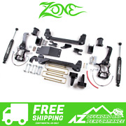 Zone Offroad 6 Suspension System Lift Kit 04-08 Ford F150 4wd F7n