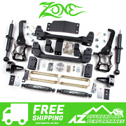 Zone Offroad 6 Suspension System Lift Kit 09-13 Ford F150 4wd F10n