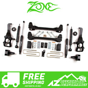 Zone Offroad 6 Suspension System Lift Kit For 2009-2013 Ford F150 2wd F20n
